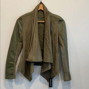 NEW Blank NYC Faux Leather Jacket